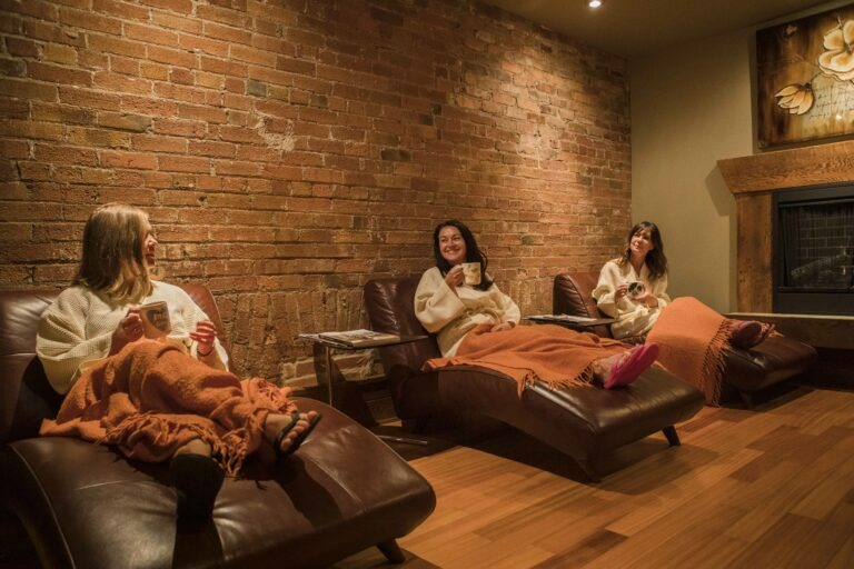 Relaxation Lounge at Spa 901