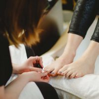 Manicures And Pedicures